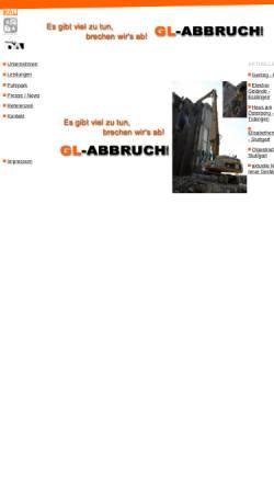 Vorschau der mobilen Webseite www.gl-abbruch.de, GL-Abbruch GmbH