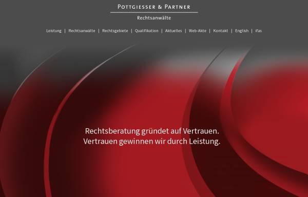 Vorschau von www.pottgiesser.de, Rechtsanwaltskanzlei Cornel Pottgiesser