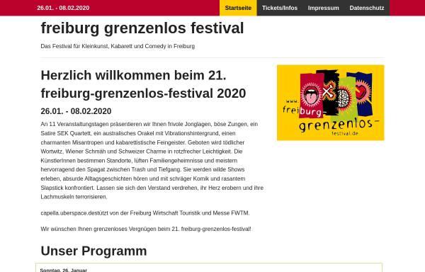 Vorschau von www.freiburg-grenzenlos-festival.de, Freiburg-Grenzenlos-Festival