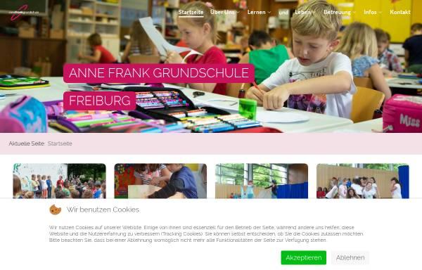 Vorschau von www.annefrankgrundschule.de, Anne Frank Schule