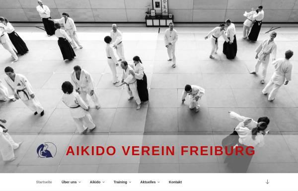 Vorschau von www.aikido-freiburg.de, Aikido Verein Freiburg