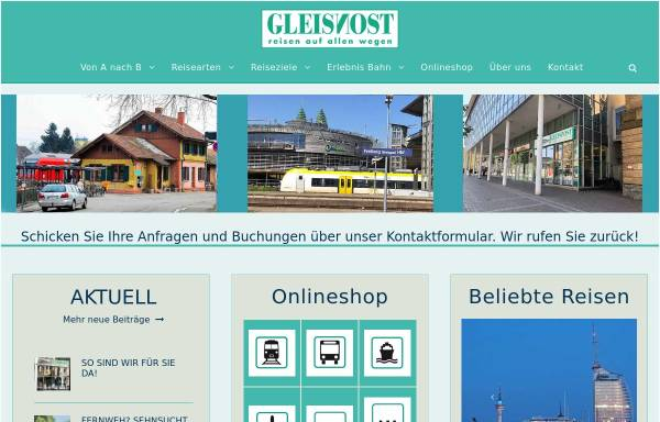 Vorschau von www.gleisnost.de, Gleisnost