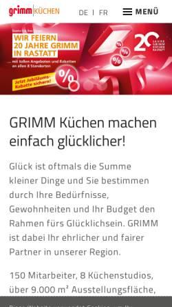 GRIMM Küche & Wohnen GmbH: Handel, Wirtschaft grimm-kuechen.com