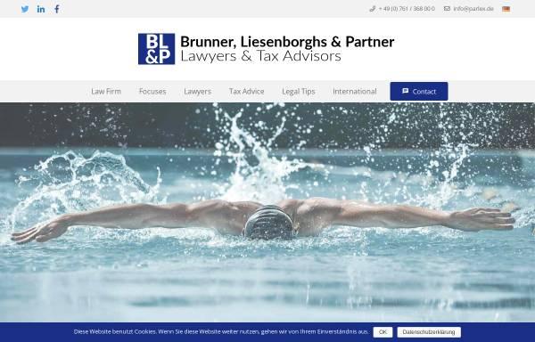 Vorschau von parlex.de, Anwaltskanzlei Brunner, Liesenborghs & Partner GbR