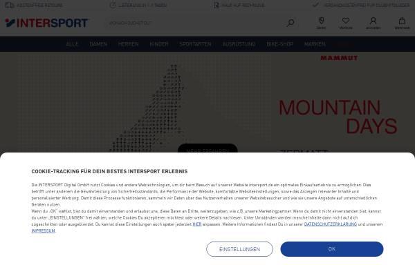 Vorschau von www.intersport.de, Intersport Deutschland e.G.