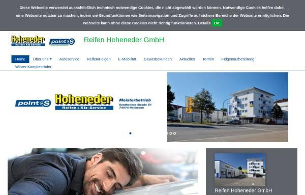Vorschau von www.reifen-hoheneder.de, Reifen Hoheneder