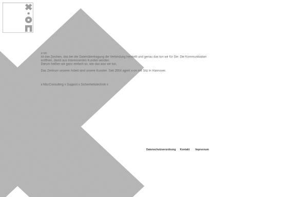 Vorschau von www.x-on.org, X-on Gesellschaft für Werbung und Marketing mbH