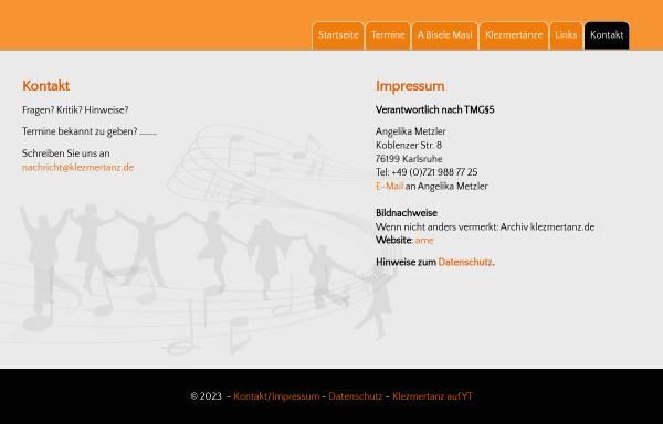 Vorschau von www.tanzeninkarlsruhe.de, Tanzen in Karlsruhe