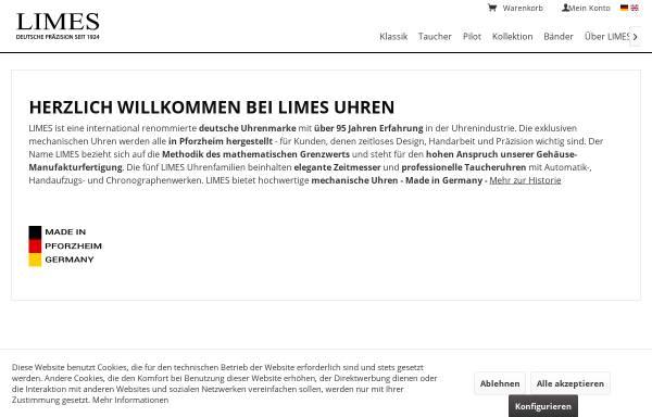 Vorschau von www.limes-uhren.de, Limes Uhren