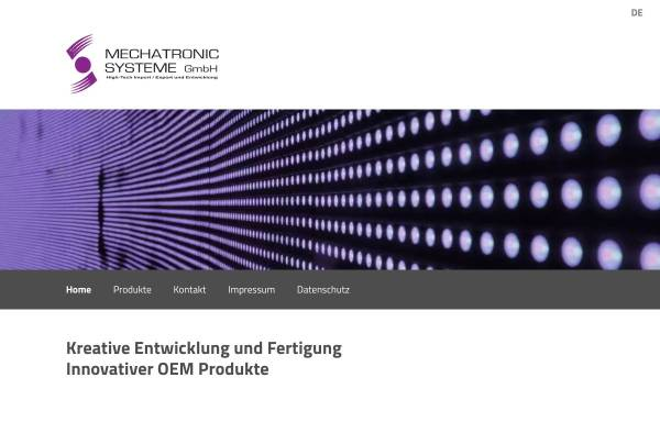 Vorschau von www.mechatronic.com, Mechatronic Systeme GmbH