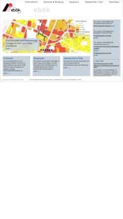 Vorschau der mobilen Webseite www.eboek.de, ebök Ingenieurbüro für Energieberatung, Haustechnik und ökologische Konzepte GbR