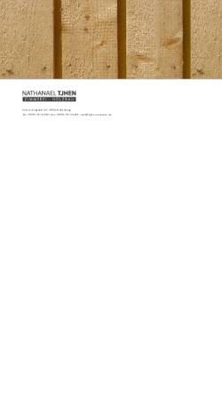 Vorschau der mobilen Webseite www.zimmerei-der-region.de, Zimmerei und Holzbau - Nathanael Tjhen