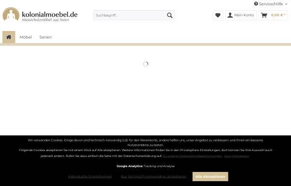 Kolonial-Living In Stuttgart: Möbel Und Inneneinrichtung