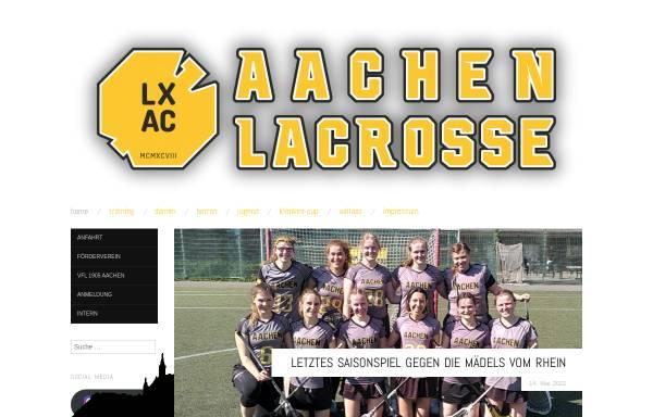 Vorschau von www.laix.de, Lacrosse Club Aachen