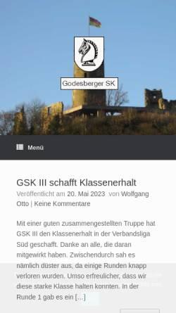 Vorschau der mobilen Webseite www.godesbergersk.de, Godesberger Schachklub 1929 e.V.