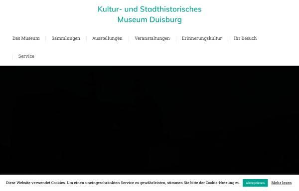 Vorschau von stadtmuseum-duisburg.de, Kultur- und Stadthistorsches Museum Duisburg