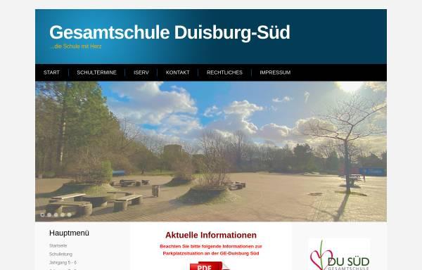 Vorschau von www.ge-duisburg-sued.de, Gesamtschule Duisburg-Süd