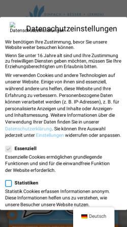 Vorschau der mobilen Webseite privatschule-niederrhein.de, Privatschule Niederrhein e.V.