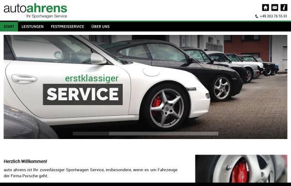 Vorschau von www.autoahrens.de, Auto Ahrens