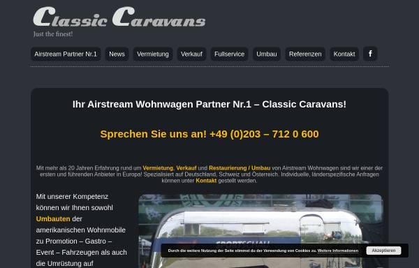 Vorschau von www.eventmobile.de, Classic Caravans