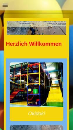 Vorschau der mobilen Webseite www.okidoki-krefeld.de, Freitzeit-Treff Hülserstrasse Akoglu GmbH