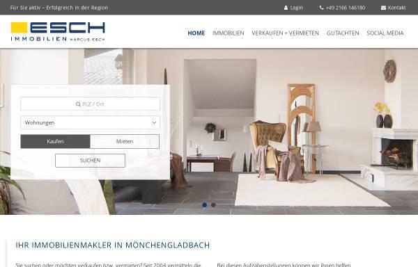 Vorschau von www.esch-immobilien.de, Esch Immobilien