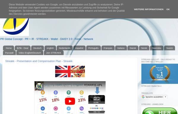 Vorschau von arno-balzer.blogspot.com, PR Global Concept