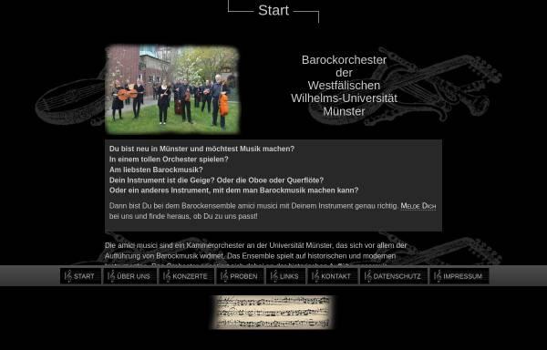 Vorschau von www.amici-musici.de, Amici Musici