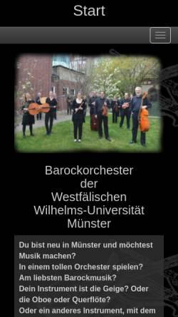 Vorschau der mobilen Webseite www.amici-musici.de, Amici Musici