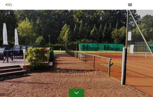 Vorschau von www.tc-handorf.de, Tennisclub Handorf e. V.