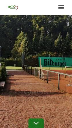 Vorschau der mobilen Webseite www.tc-handorf.de, Tennisclub Handorf e. V.