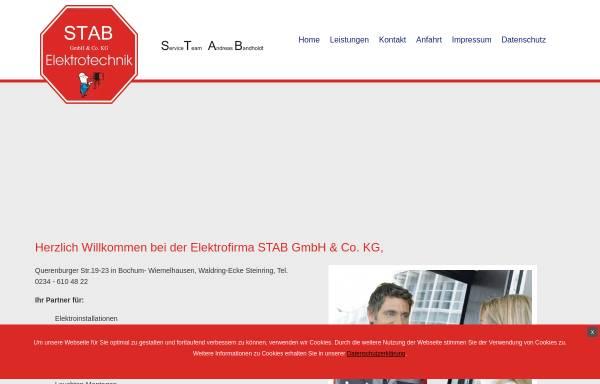 Vorschau von www.st-ab.de, STAB GmbH & Co.KG