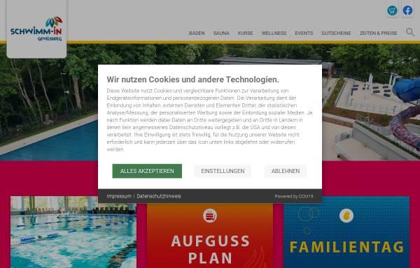 Vorschau von www.schwimm-in-gevelsberg.de, Schwimm in