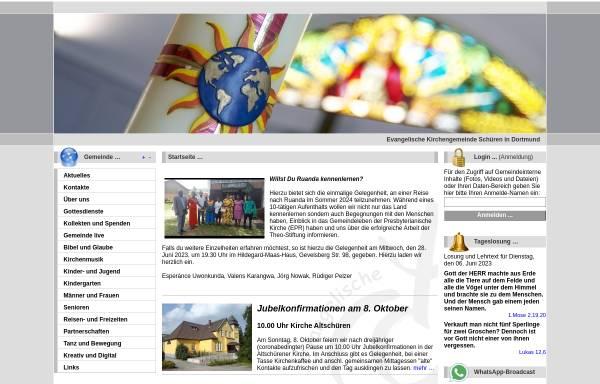 Vorschau von www.kircheschueren.de, Posaunenchor der ev. Kirchengemeinde Aplerbeck