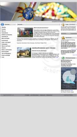 Vorschau der mobilen Webseite www.kircheschueren.de, Posaunenchor der ev. Kirchengemeinde Aplerbeck