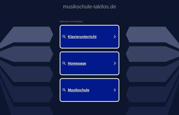 Vorschau von www.musikschule-taktlos.de, Musikschule Taktlos