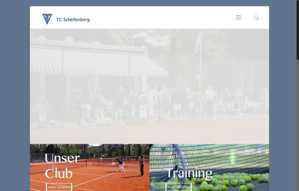 Vorschau von www.tcschellenberg.de, TC Schellenberg e.V.