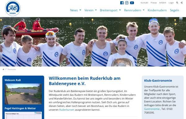 Vorschau von www.rab-essen.de, Ruderklub am Baldeneysee e.V.