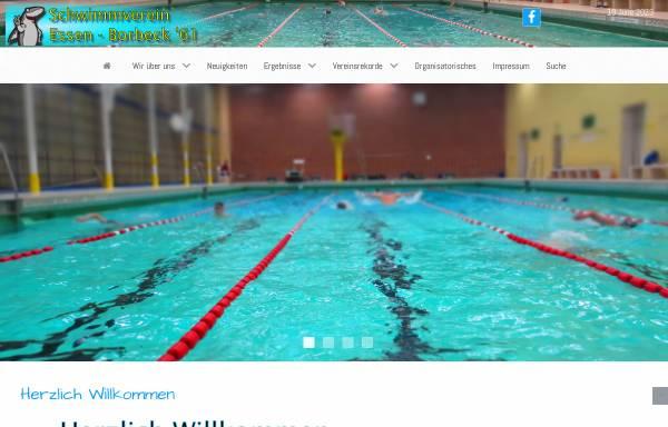Vorschau von www.seb61.de, Schwimmverein Essen-Borbeck 61 e.V.