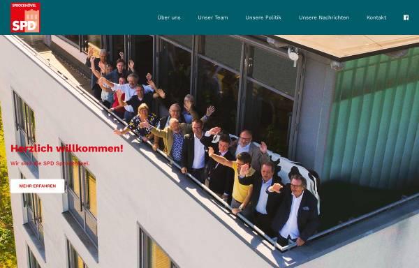 Vorschau von www.spd-sprockhoevel.de, SPD-Stadtverband Sprockhövel
