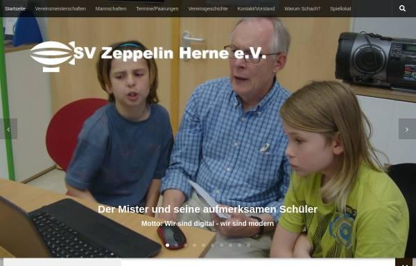 Vorschau von www.sv-zeppelin.de, SV Zeppelin Herne e.V.