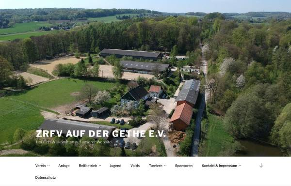 Vorschau von www.gethe.de, ZRFV Auf der Gethe e.V.