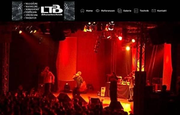 Vorschau von www.ltb-showtechnik.de, LTB Showtechnik