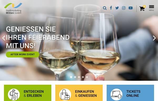Vorschau von www.stadtmarketing-witten.de, Stadtmarketing Witten GmbH