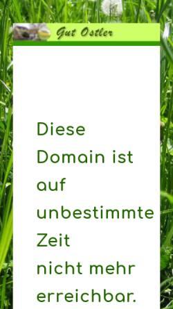 Vorschau der mobilen Webseite www.gutostler.de, Gut Ostler