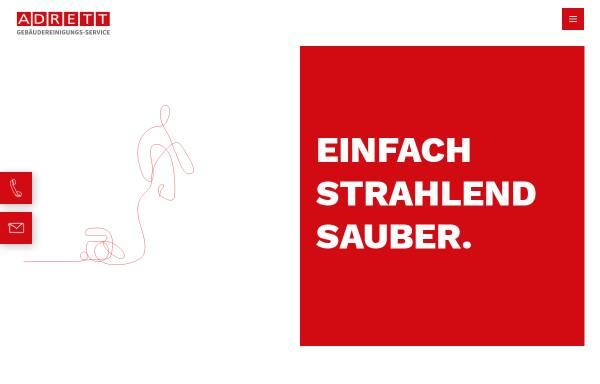 Vorschau von www.adrett-gmbh.de, Adrett GmbH