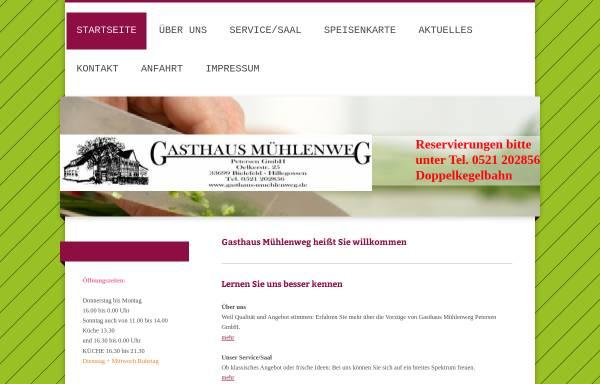 Vorschau von gasthaus-muehlenweg.de, Gasthaus Mühlenweg