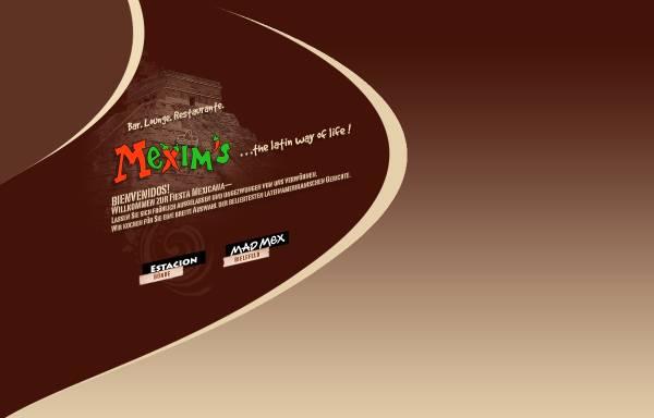 Vorschau von www.mexims.de, Mexim's