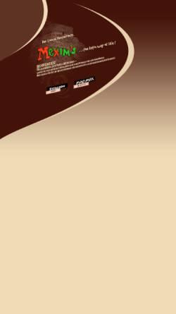 Vorschau der mobilen Webseite www.mexims.de, Mexim's