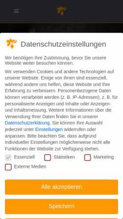 Vorschau der mobilen Webseite www.runkelkrug-bielefeld.de, Runkelkrug